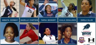 Howard University Nine Bison Named to the MEAC Women's Volleyball All-Time Team