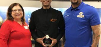 Lincoln Prep Academy Basketball Student-Athlete Jeremiah Randle Senior shooting guard 3-year starter will be joining the air force received the Leon M Harden Jr. Sportsmanship Award.