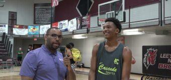 Jason Mudd Interviewing TJ. Williams Wichita Heights HS. Class Of 2023