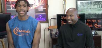 Cascade Sports Coach Rodney Perry Interviews 4 Star Forward Out St. Louis Tarris Reed Jr.
