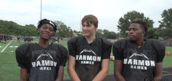 Interview With J C Harmon Football Team Members Darion Vincent, Alejandro Valdez & James Reed