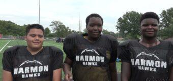 Interview With J C Harmon Football Team Members Kendel Hamilton, Maiaire Nxaragabo, & Orlando Wright