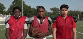 Interview With Wyandotte Football Team Members Gabriel Portilb, Eddie Johnson & Jason Vaughn