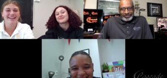 Interview With St. Teresa Academy Head Girls Basketball Coach Kiera Hardy & Kaylee Lary, Grace Quinn