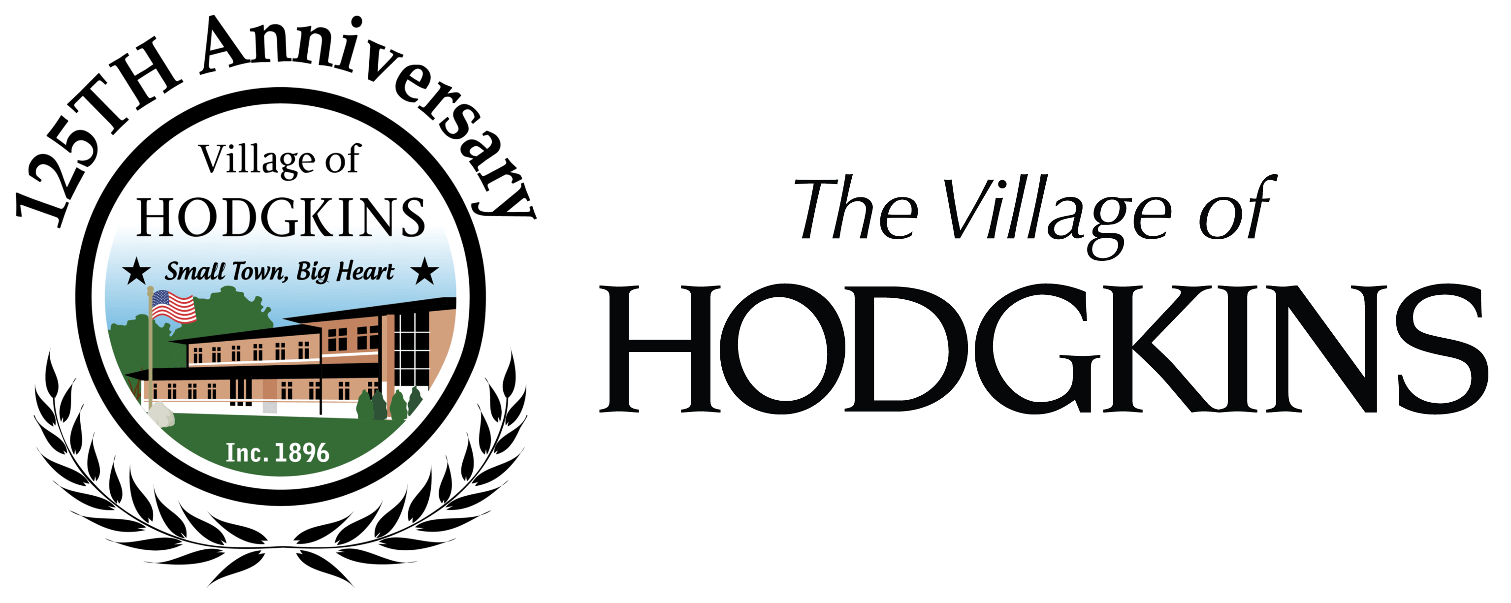 Village of Hodgkins logo