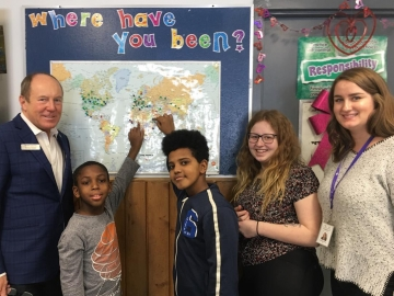 Had an excellent tour of the Boys & Girls Clubs Big Brothers Big Sisters of Edmonton & Area. It gives kids a great place to interact after school - February 12, 2019