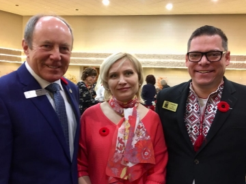 Happy to officiate at the 45th Anniversary of the Ukrainian Youth Unity Complex - Nov. 10, 2018