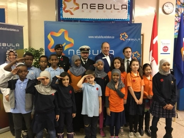 I really enjoyed the excellent performances by children today in the Remembrance ceremony at Nebula Academy - Nov. 9, 2018
