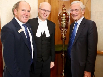 Meeting the Rt Hon Lord Fowler in Ottawa - Oct. 4, 2017