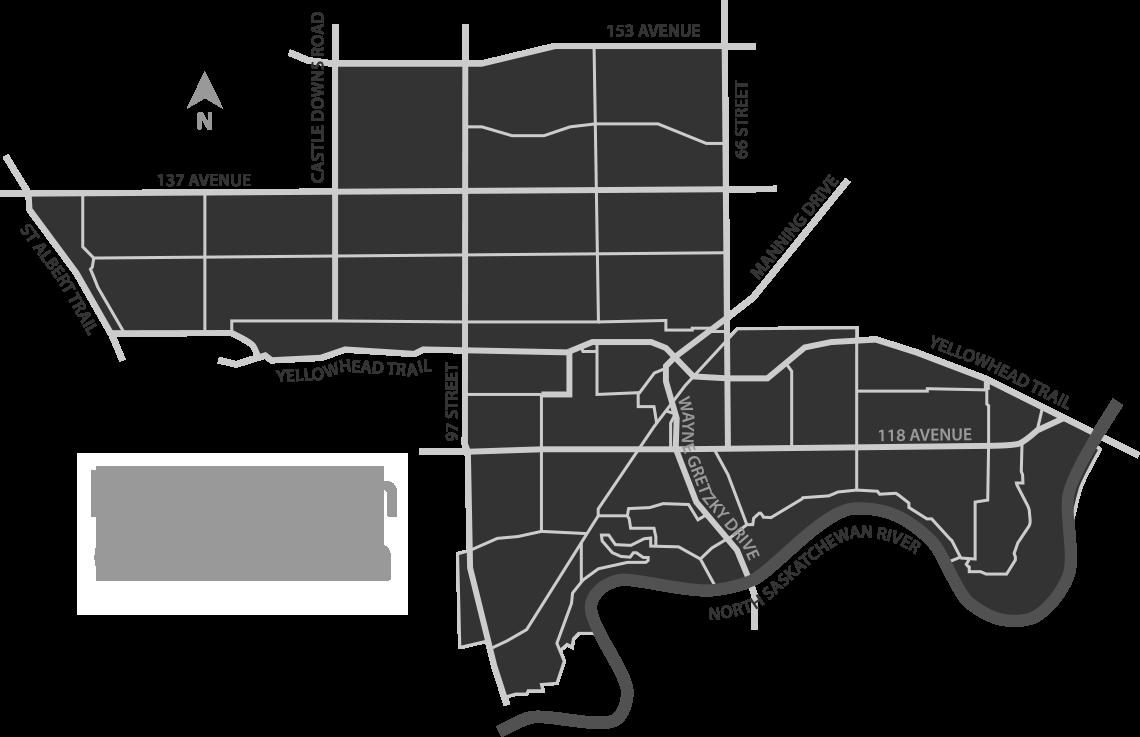 Edmonton Griesbach Riding Map