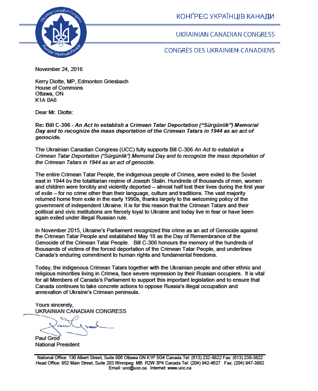 support-letter-from-ukrainian-canadian-congress
