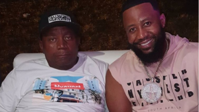 Watch! Cassper Goes Partying With His Dad