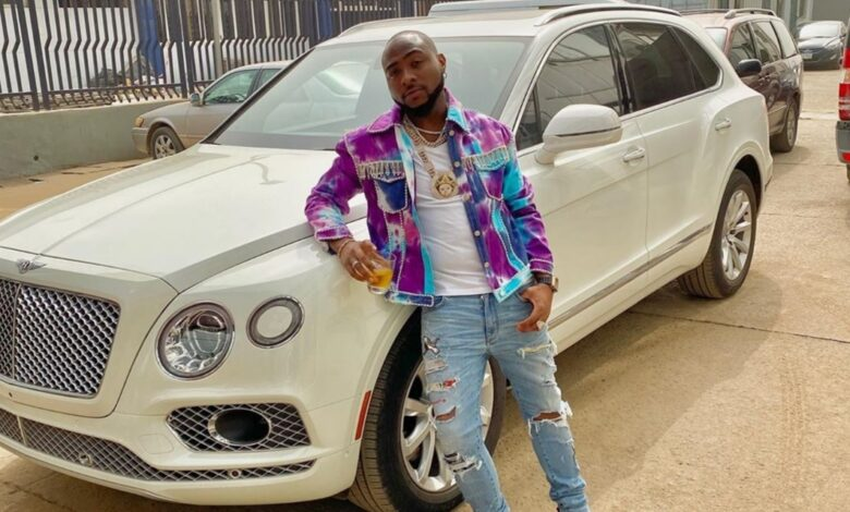 Davido Offers To Sell His Impressive Car Collection To Fight COVID-19