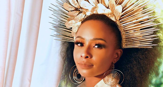 Boity Shows Off Her New Diamond Customized Chain From Dr Lex Leo!