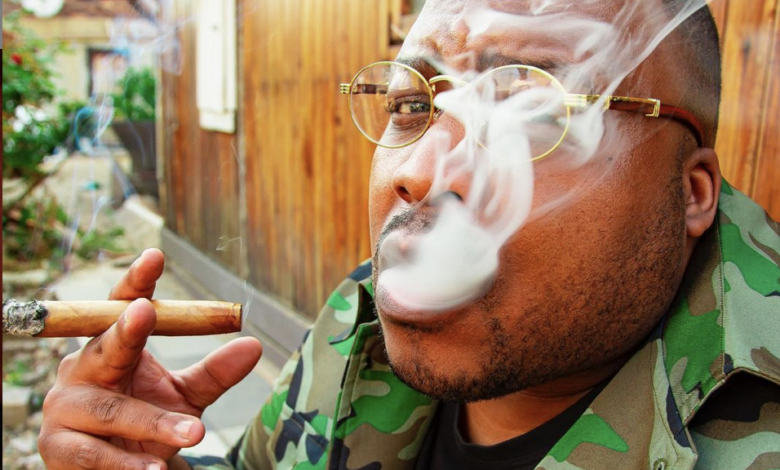 Stogie T Calls Out M.I Abaga For Smoking His Cigar Backwards