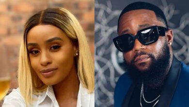 Cassper's Baby Mama Gushes Over Him Following Their Son's Christening