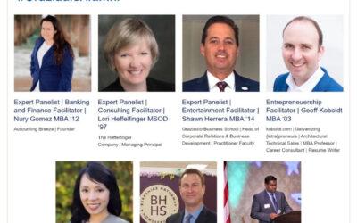 Pepperdine University high-speed networking and entrepreneurship roundtable with Geoff Koboldt