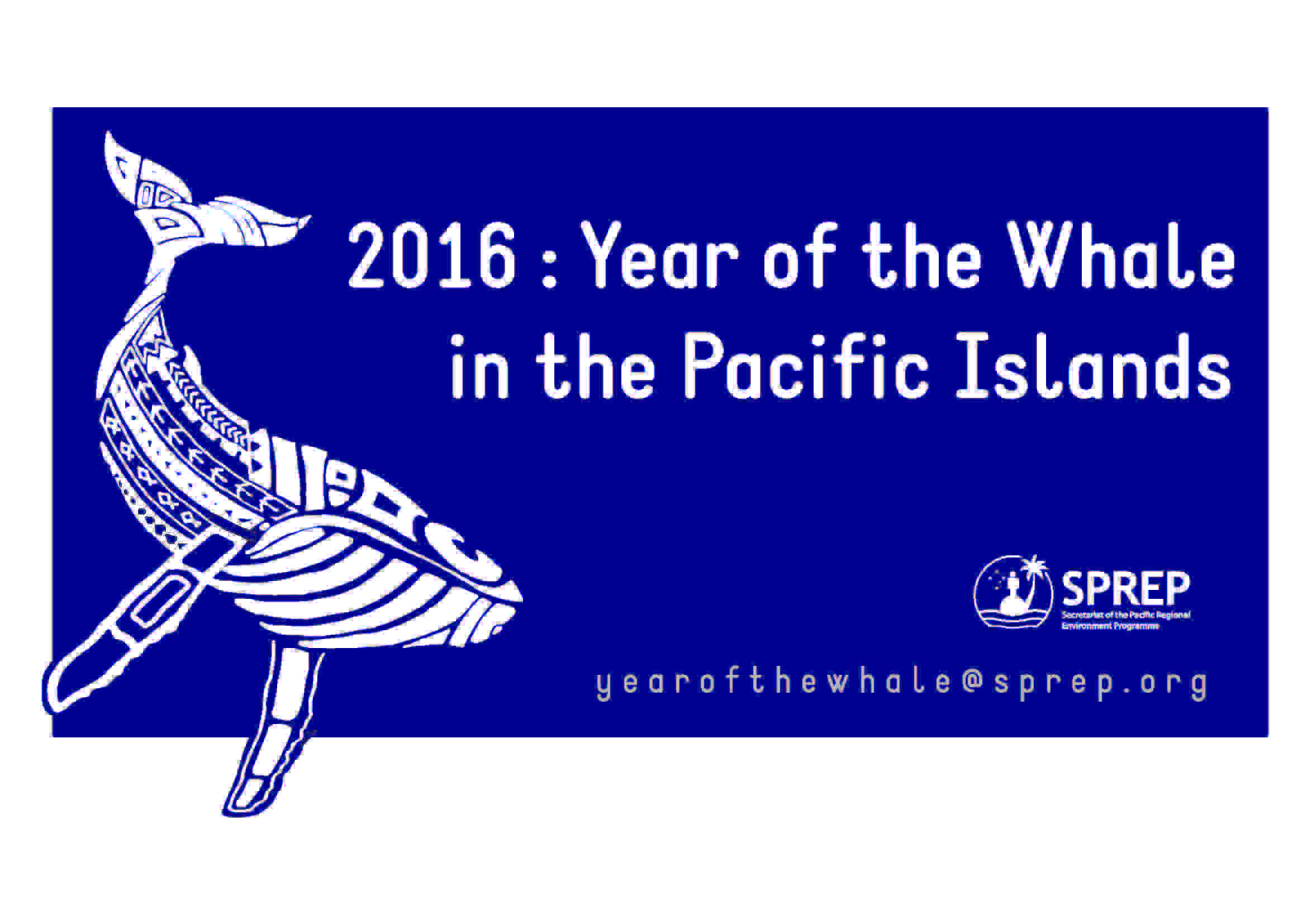 2016 : The Year of the Whale in the Pacific Islands