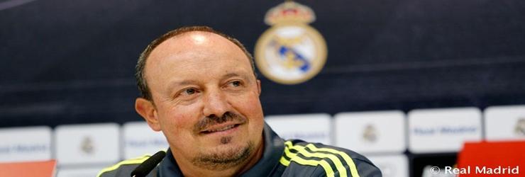 Rueda de prensa de Rafa Benitez previa al partido de Liga ante el Granada