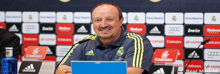 Rueda de prensa de Rafa Benitez previa al partido ante el Athletic Club