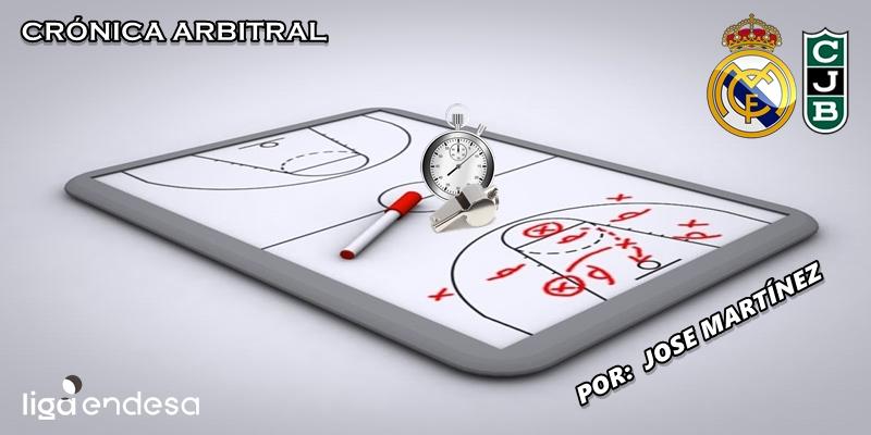 CRÓNICA ARBITRAL | Real Madrid vs Joventut | Liga Endesa | Jornada 20