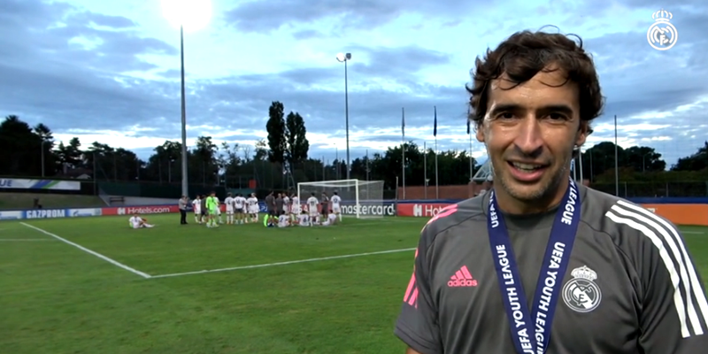 VÍDEO | Declaraciones post partido | Benfica vs Real Madrid | Uefa Youth League | Final