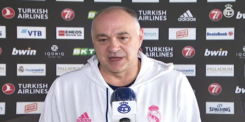 VÍDEO   Declaraciones de Pablo Laso en la previa del partido ante Fenerbahçe