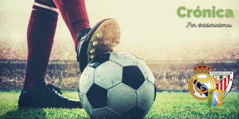 CRÓNICA   Victoria sufrida: Real Madrid Femenino 1 – 0 Athletic Club Bilbao