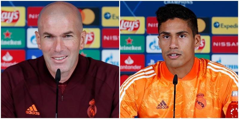 VÍDEO   Rueda de prensa de Zinedine Zidane y Raphael Varane previa al partido ante el Inter