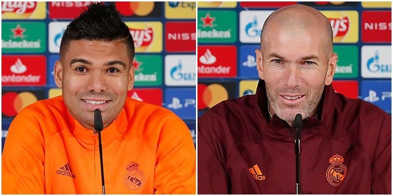 VÍDEO | Rueda de prensa de Casemiro y Zinedine Zidane previa al partido ante el Borussia Mönchengladbach