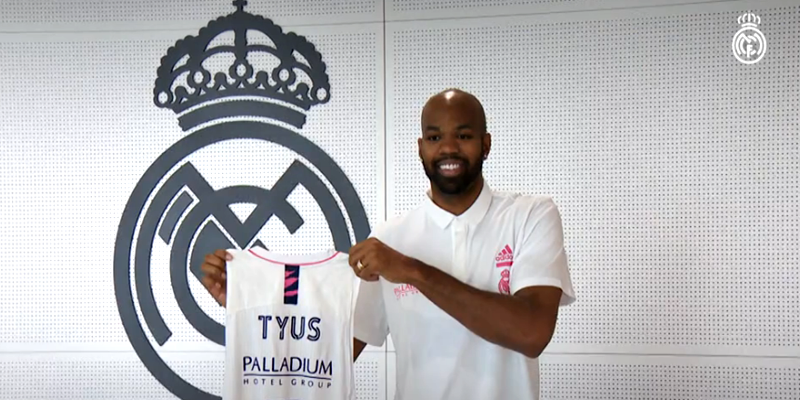 VÍDEO | Alex Tyus: «Venir al Real Madrid significa mucho para mí»