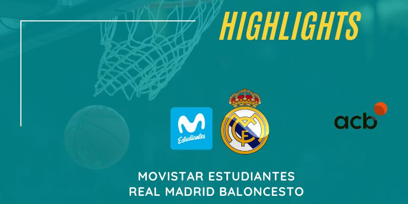 VÍDEO | Highlights | Movistar Estudiantes vs Real Madrid | Primera Iberdrola | Jornada 23