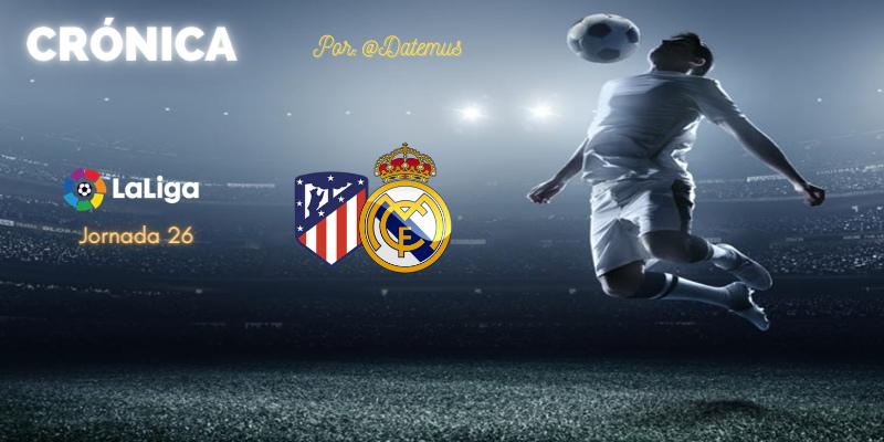 CRÓNICA | Diario de una estafa (N+1). El Madrid regala una hora y Hernández Hernández media liga a los suyos: Atlético de Madrid 1 – 1 Real Madrid