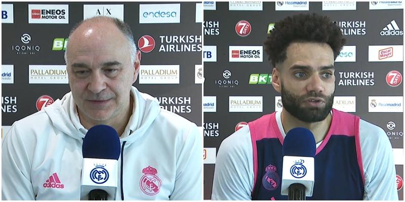 VÍDEO | Declaraciones de Pablo Laso y Jeffery Taylor en la previa del partido ante el FC Barcelona