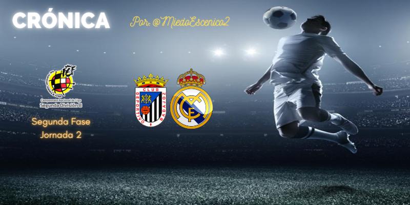 CRÓNICA | Derrota frente al oficio: CD Badajoz 2 – 0 Real Madrid Castilla