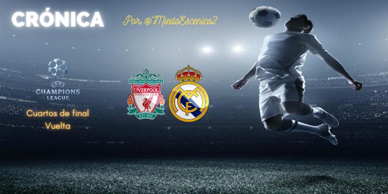 CRÓNICA   Titanic no, titanes: Liverpool 0 – 0 Real Madrid