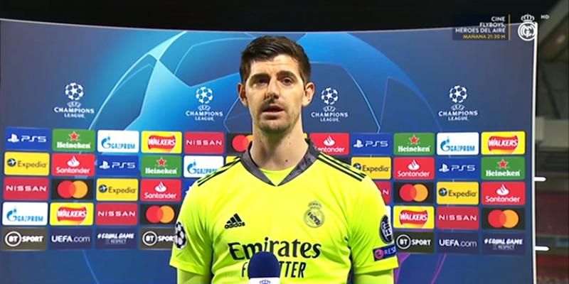VÍDEO | Declaraciones de Zidane, Casemiro, Nacho y Courtois tras el partido ante el Liverpool