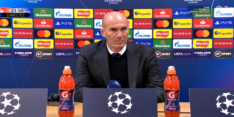 VÍDEO   Rueda de prensa de Zinedine Zidane tras el partido ante el Liverpool