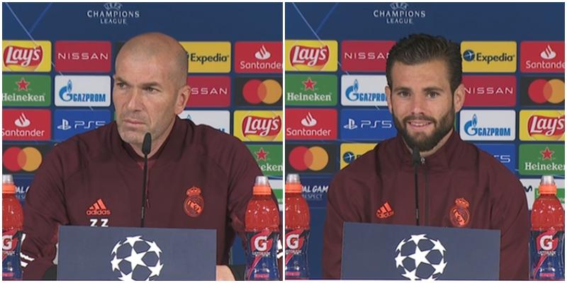 VÍDEO   Rueda de prensa de Zidane y Nacho previa al partido ante el Liverpool