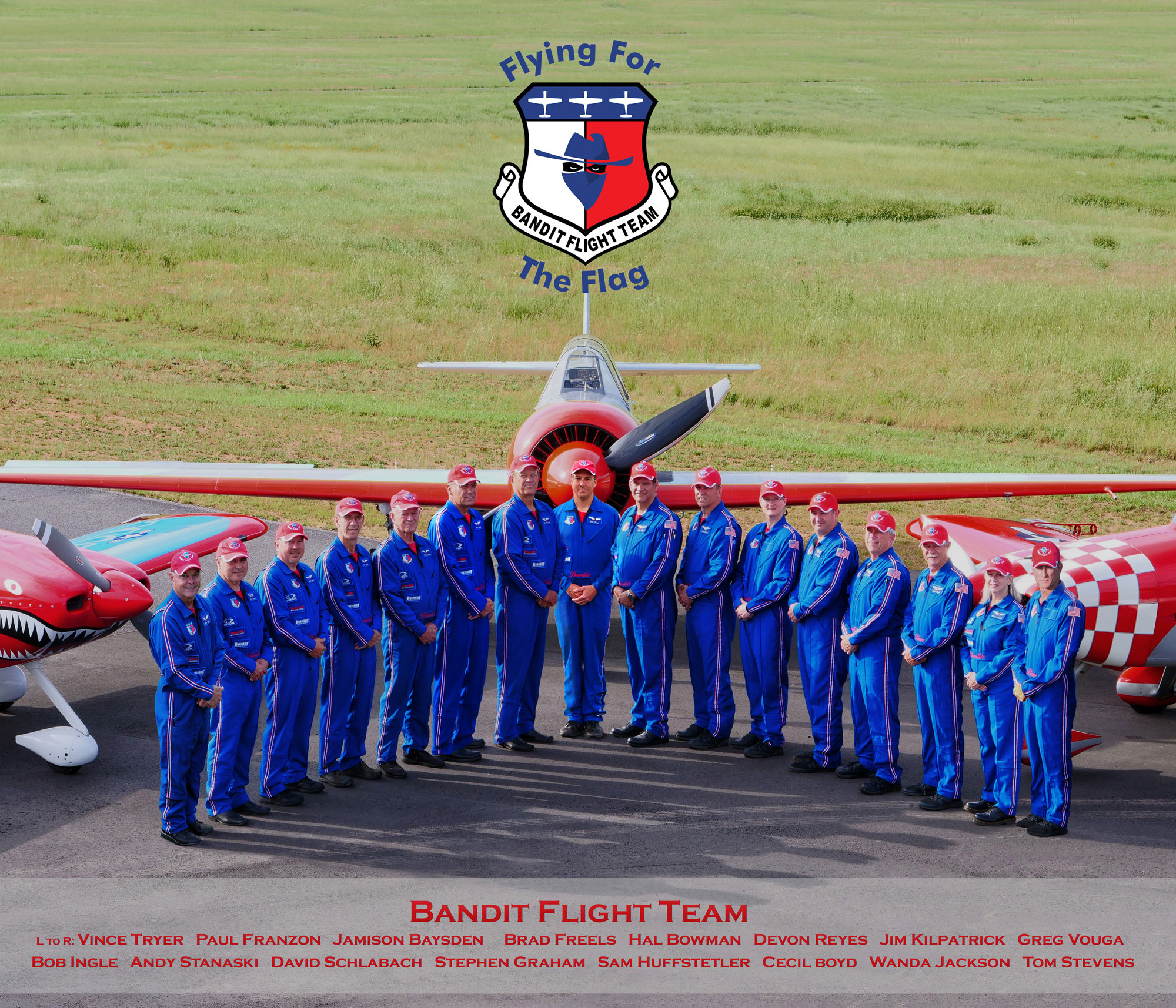 2019-Bandit Flight Team Photo