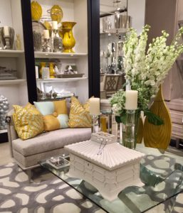 gold accents are the new decor trend