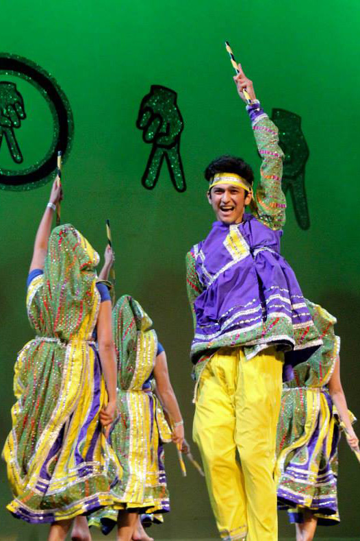 Indian Raas dance