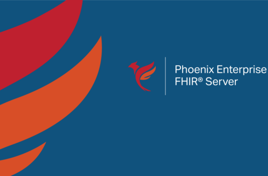 orange and red logo of a phoenix