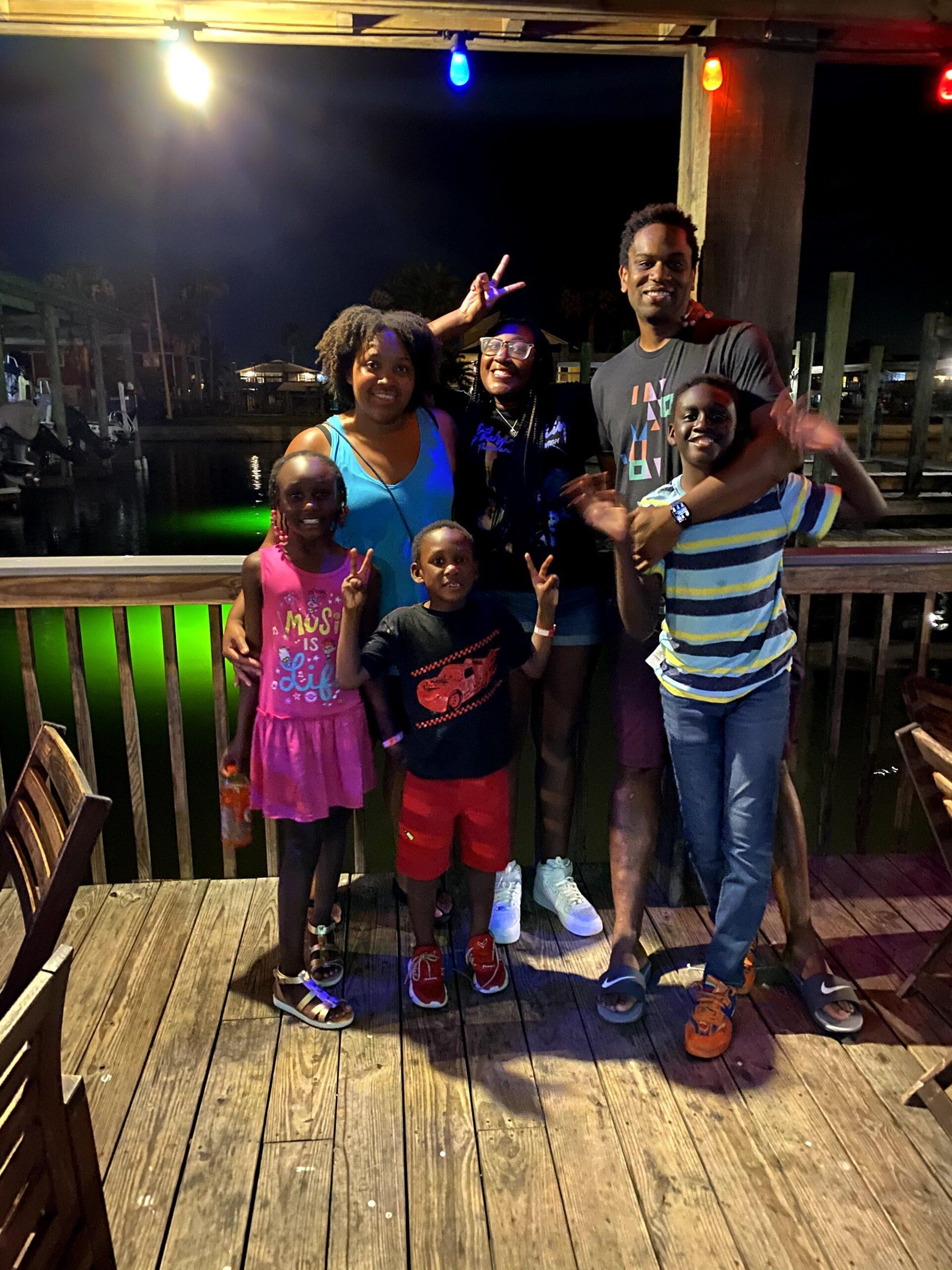 Hughes family photo