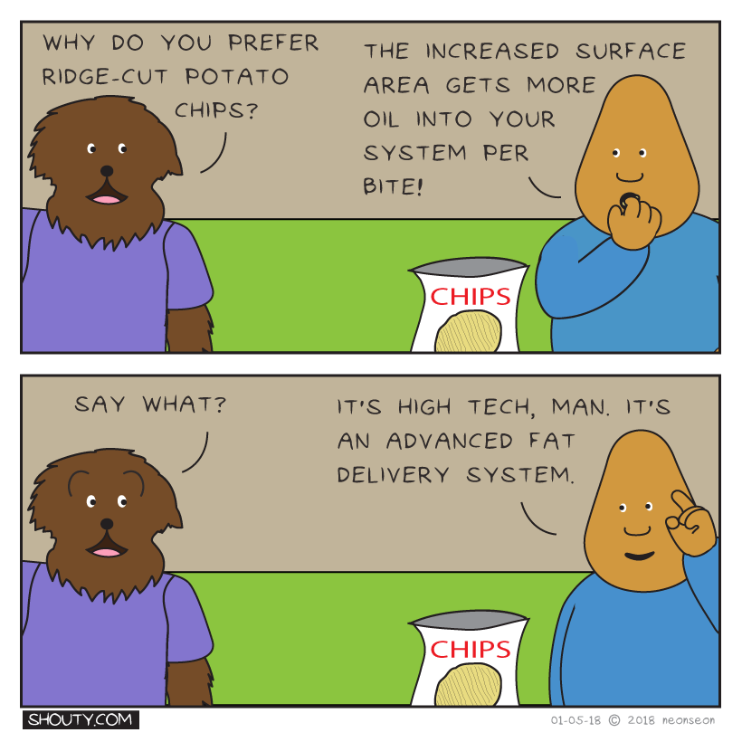 Potato chip technology