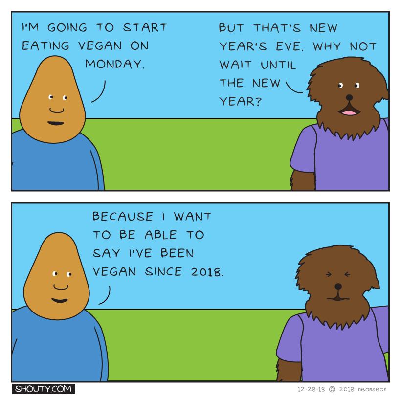 Early Start Comic by Shouty