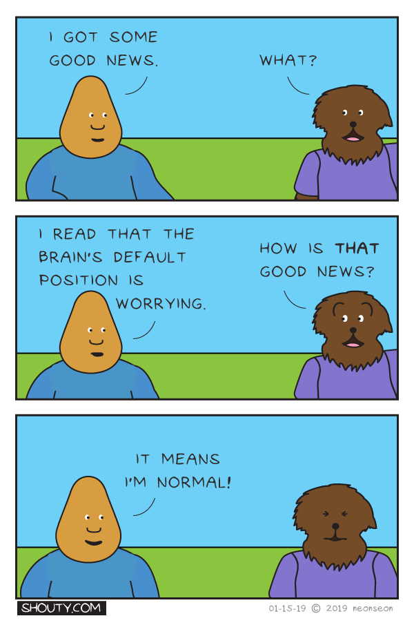 Worry Part I Comic by Shouty