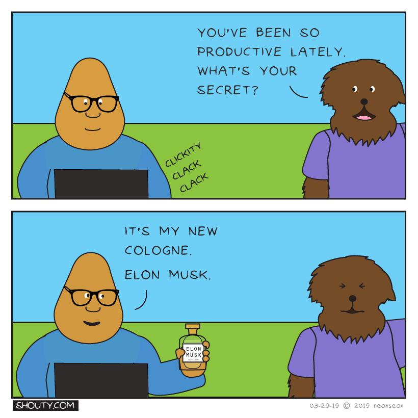 Productivity's Up Comic by Shouty