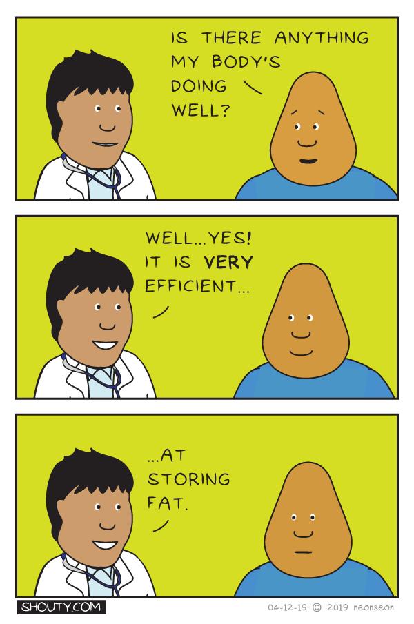 Annual Checkup Comic by Shouty
