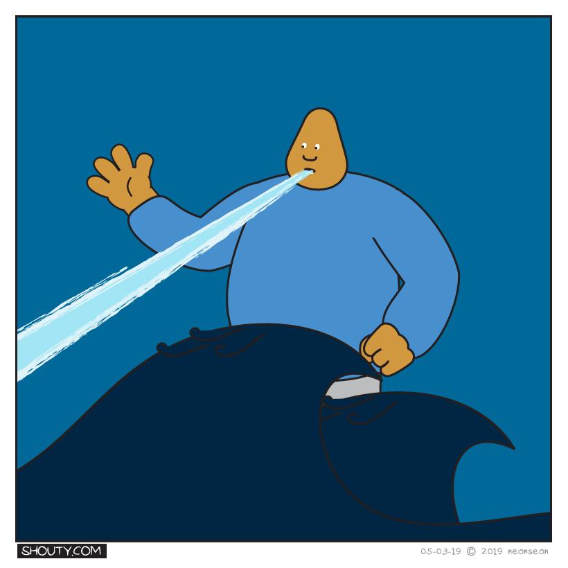 Shoutyzilla Comic by Shouty